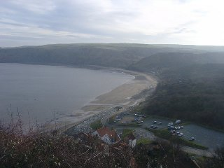 A view of Runswick Bay, nr Whitby, North Yorkshire
