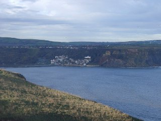 A view of Runswick Bay from Kettleness