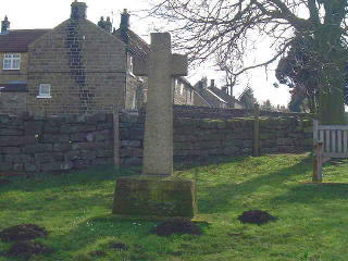 An image of the War Memorial in Westerdale