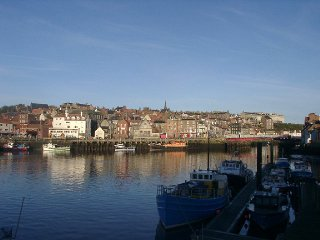 A view of Whitby Harbour taken from the East Side